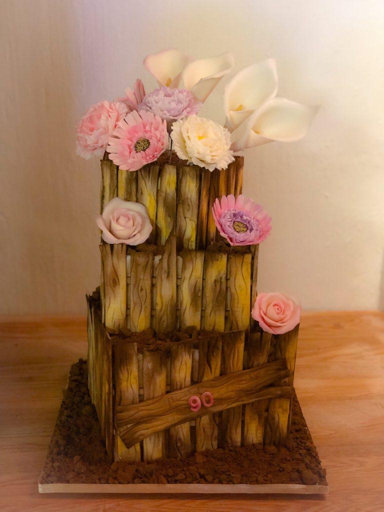 90 Birthday Cake